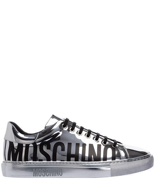 Sneakers Moschino MB15012G0AGE0902 argento