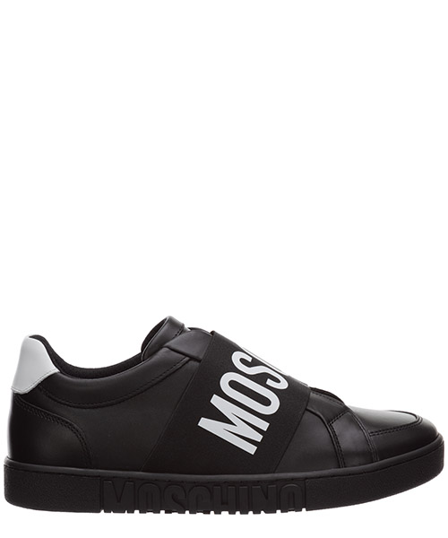 Sneaker Moschino logo mb15032g1bga100a nero