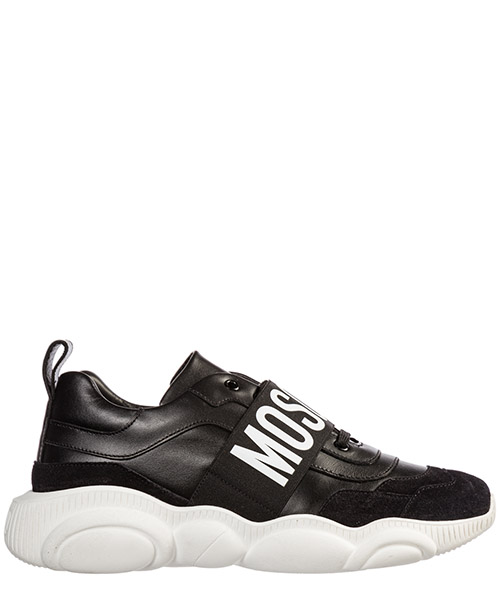 Sneakers Moschino teddy run mb15113g08ga400a nero