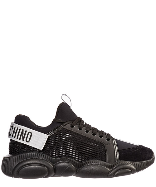 Sneakers Moschino teddy run mb15133g08gj100a nero