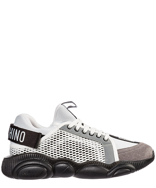 Sneakers Moschino teddy run mb15133g08gj110a bianco