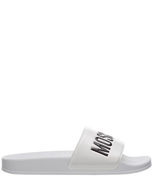 Slides Moschino MB28022G0BG10100 bianco
