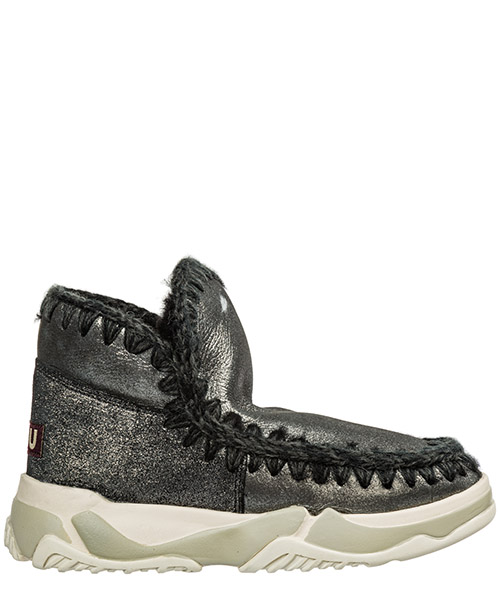 Ankle boots Mou eskimo trainer eskimo19trainermgblk argento