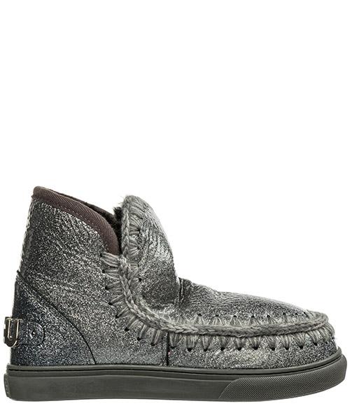 Ankle boots Mou eskimo sneaker eskisneakbiglogo argento