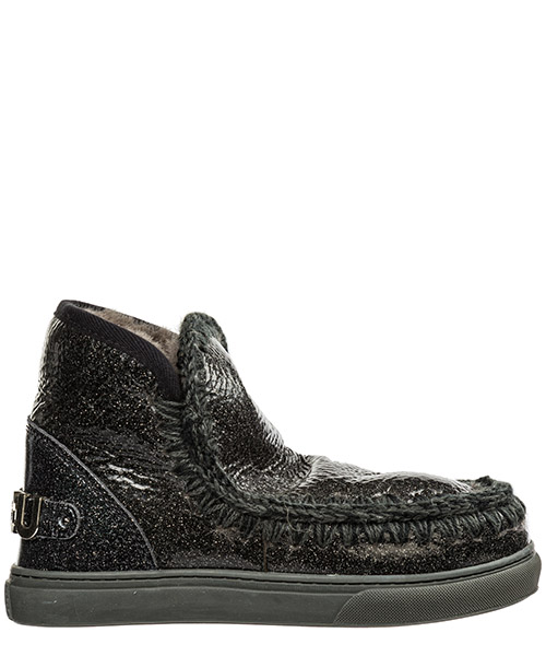 Ankle boots Mou eskimo sneaker eskisneakbiglogo nero
