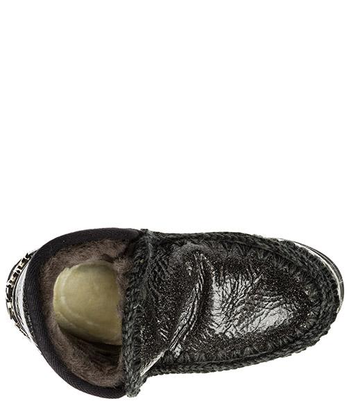 Stivaletti stivali donna in pelle eskimo sneaker secondary image
