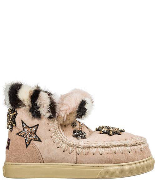 Ankle boots Mou eskimo sneaker eskisnekstarpatch rosa