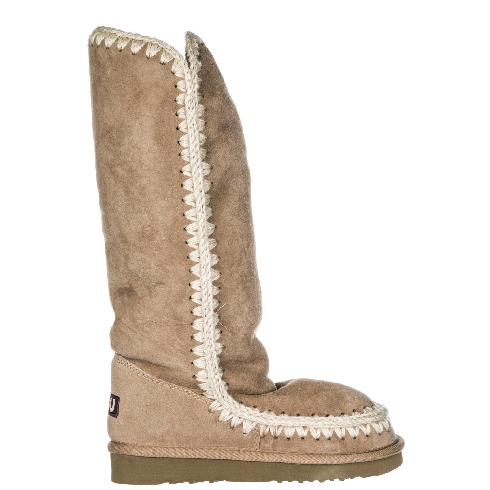 migliori scarpe da ginnastica 58610 35f41 Stivali donna in camoscio eskimo 40