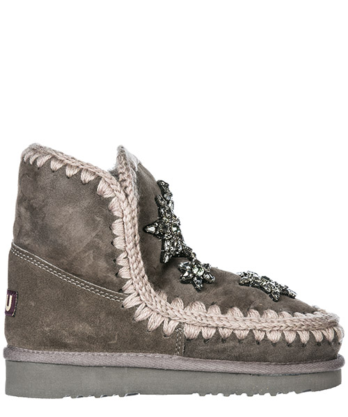 Ankle boots Mou Eskimo 18 MU.ESKIMO18-CHA charcoal