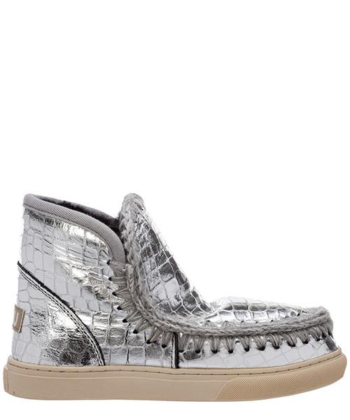 Stiefeletten Mou eskimo sneaker mu.fw111000c argento