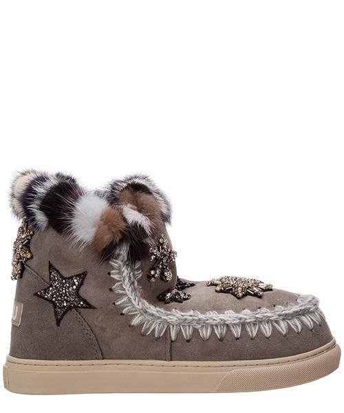 Stiefeletten Mou eskimo sneaker mu.fw111006a grigio
