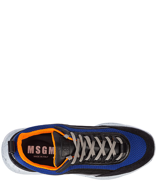 Men's shoes leather trainers sneakers z running secondary image