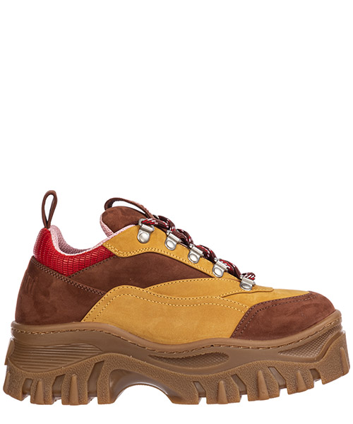 Sneakers MSGM tractor 2741mds509 397 marrone