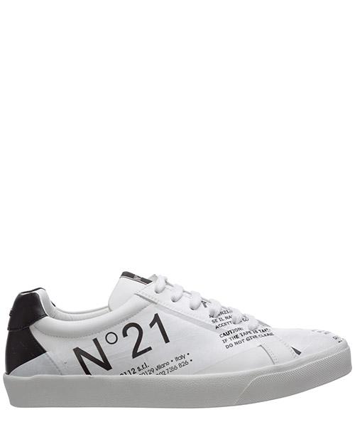 Sneaker N°21 20esu00370037w001 bianco
