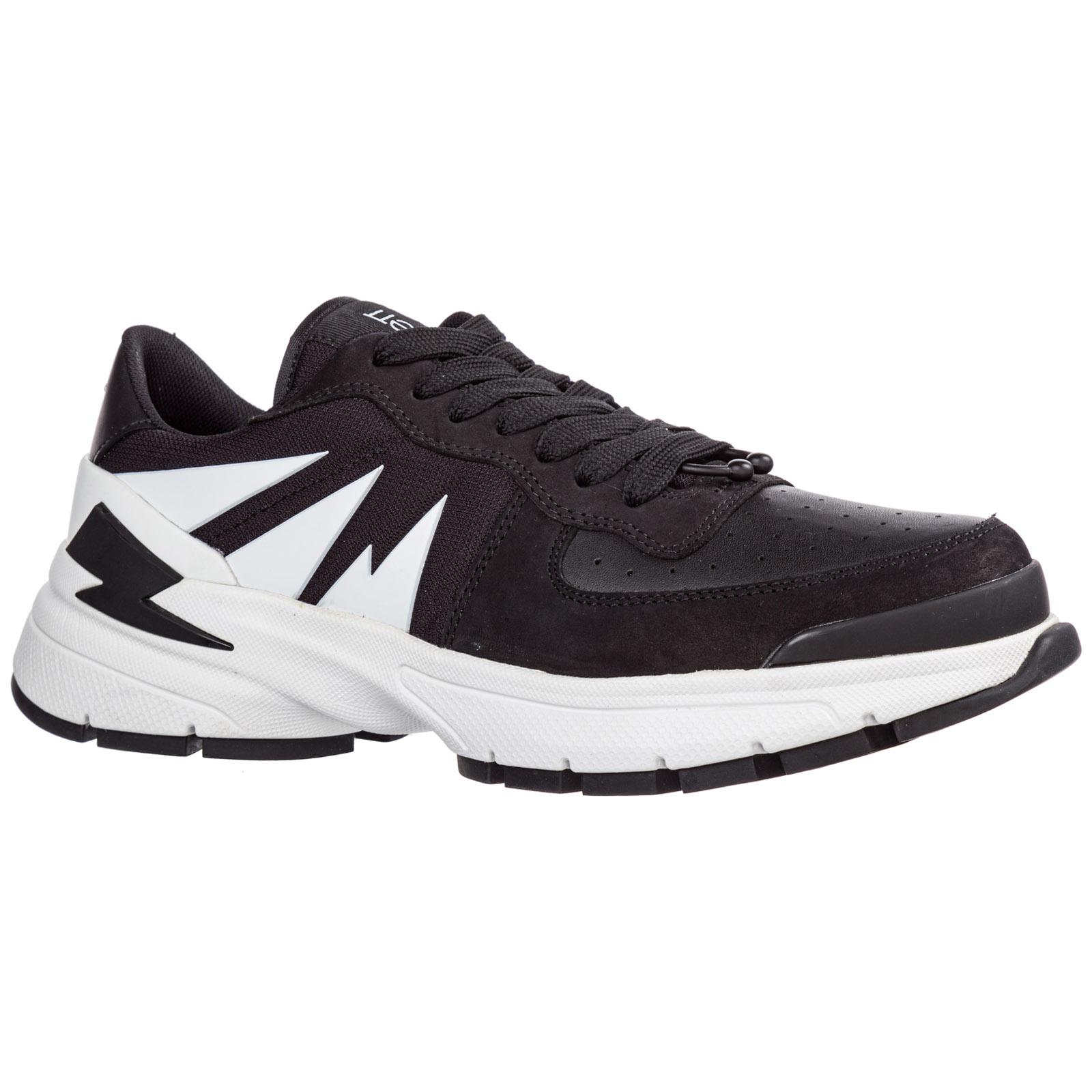 Chaussures baskets sneakers homme en cuir tiger bolt