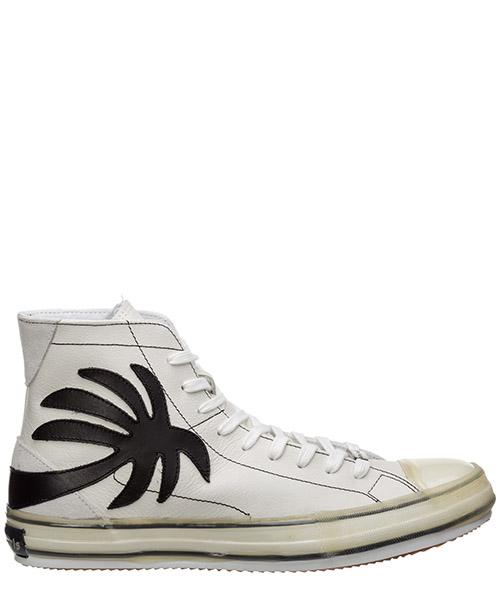 Sneaker high Palm Angels Vulcanized PMIA048E20LEA0010110 white
