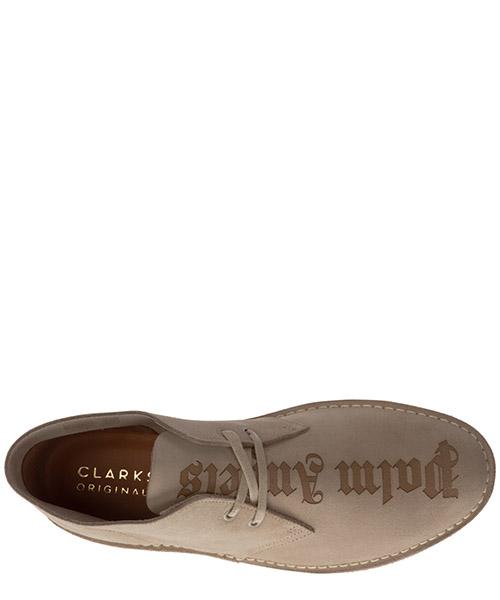 Polacchine stivaletti scarpe uomo camoscio logo secondary image