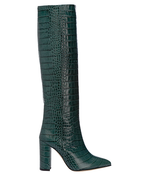 Knee high boots Paris Texas PX120 XCAG2 verde