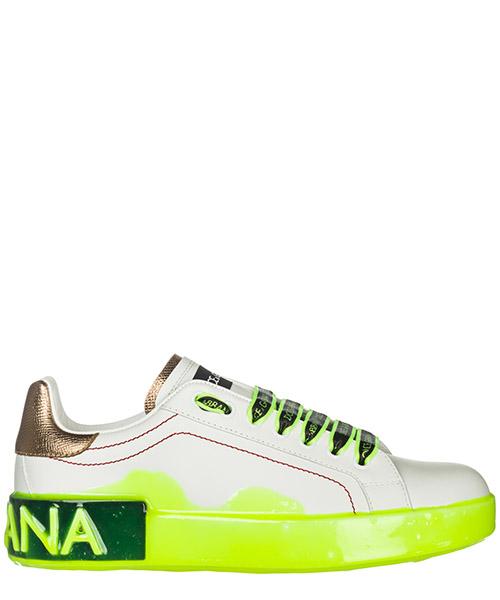 Sneakers Pelletterie di Parma Portofino CK1587AK2368P350 bianco / oro / giallo