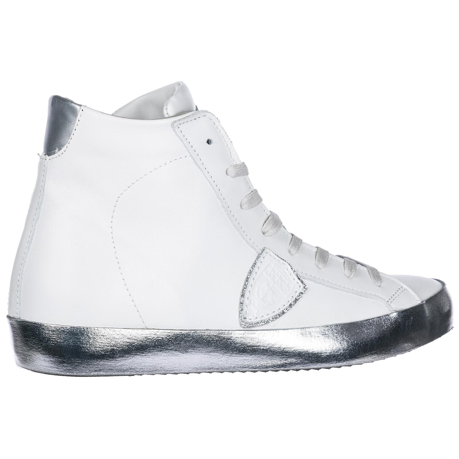 argent Philippe VL10 alte A17ICEHD Paris Model blanc Sneakers HwBqzAnR