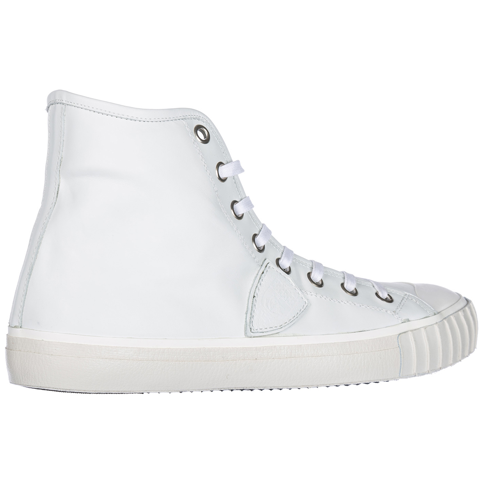 Men's shoes high top leather trainers sneakers paris h