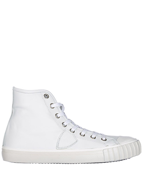 High top sneakers Philippe Model Paris A17IGRHU-VL04 blanc / blanc