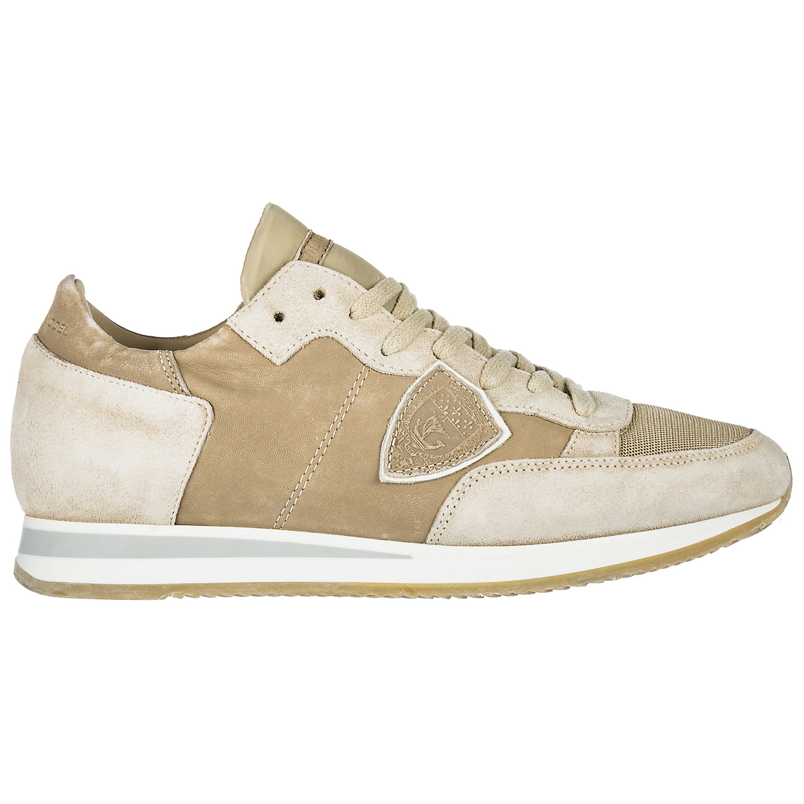Sneakers Philippe Model Tropez A18ETRLU-RW01 sable  1472789a721
