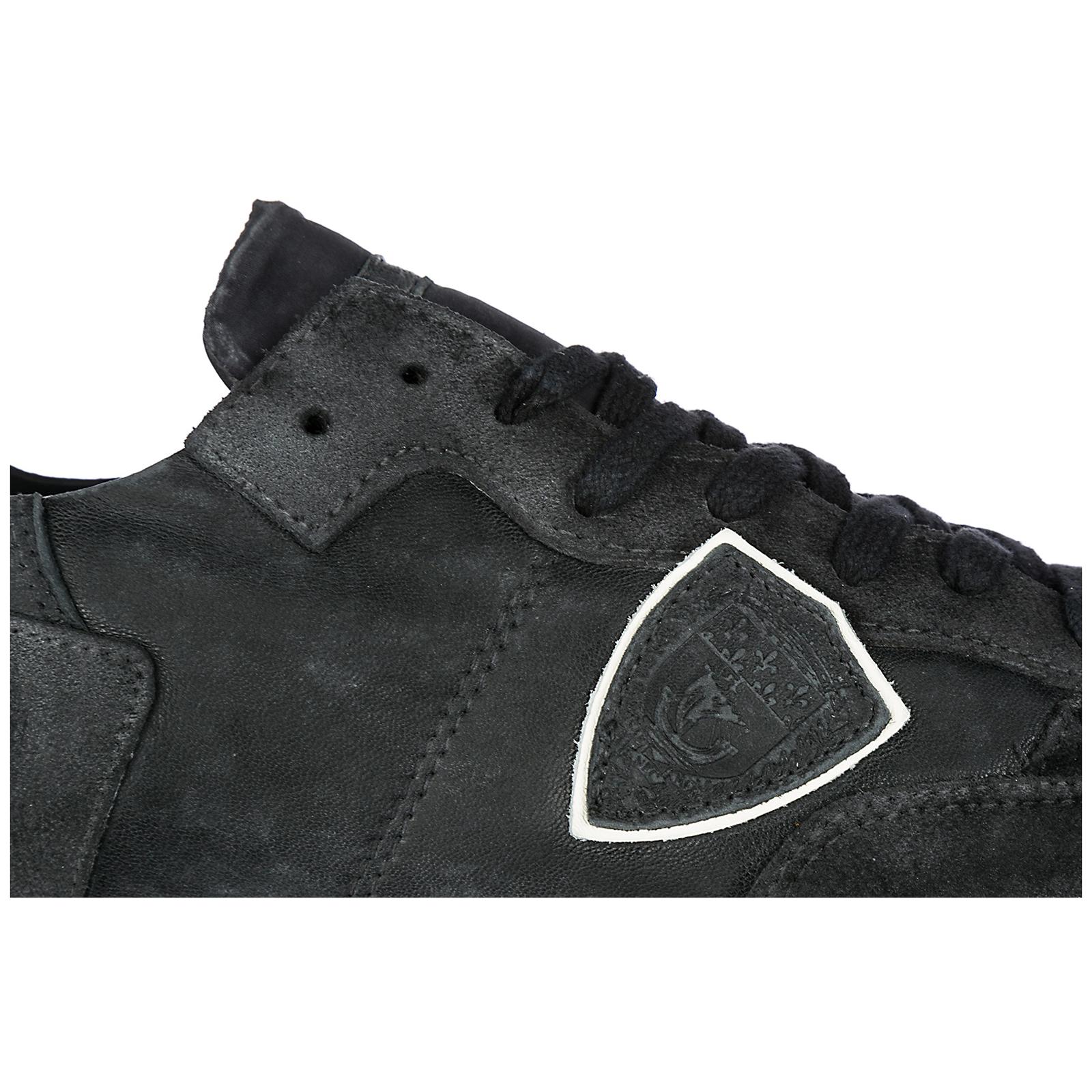 Sneakers Philippe Model Tropez A18ETRLU-RW04 run noir  8ce2435bbb3