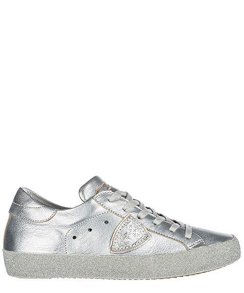 Zapatillas deportivas Philippe Model A18ECGLDML22 metal argent
