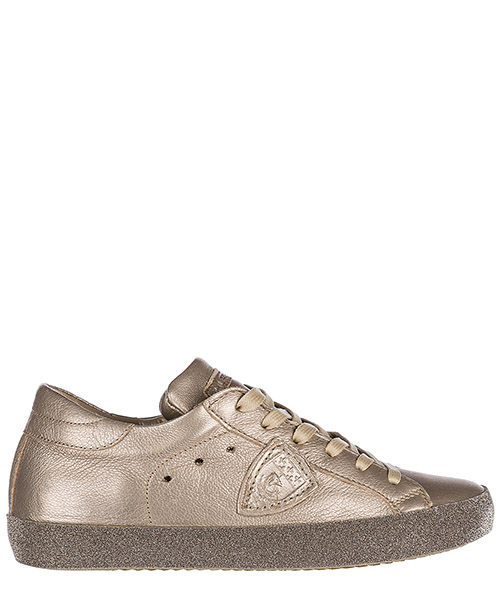 Turnschuhe Philippe Model Paris A18ECGLD-ML25 metal champagne