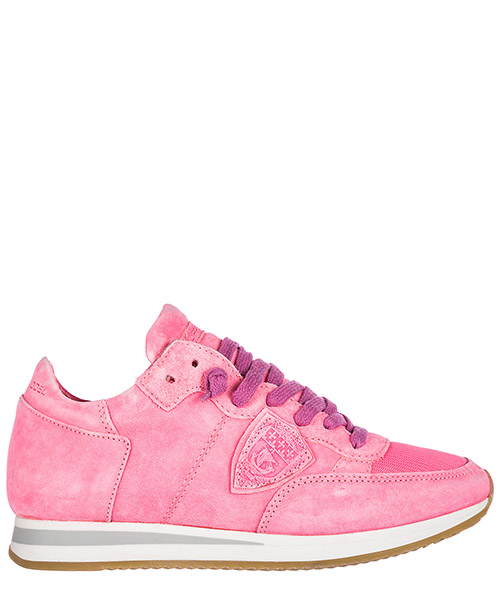 Basket Philippe Model Tropez A18ETRLD-ND04 neon fuxia