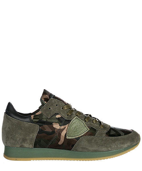 Scarpe sneakers uomo camoscio tropez