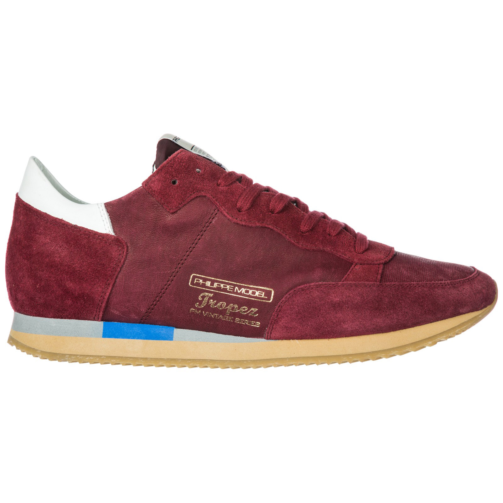 Sneakers Model Philippe A18itvluww05 Bordeaux Philippe Sneakers 0nwOkP
