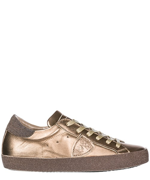 Turnschuhe Philippe Model A18ICGLD-ML26 metal or