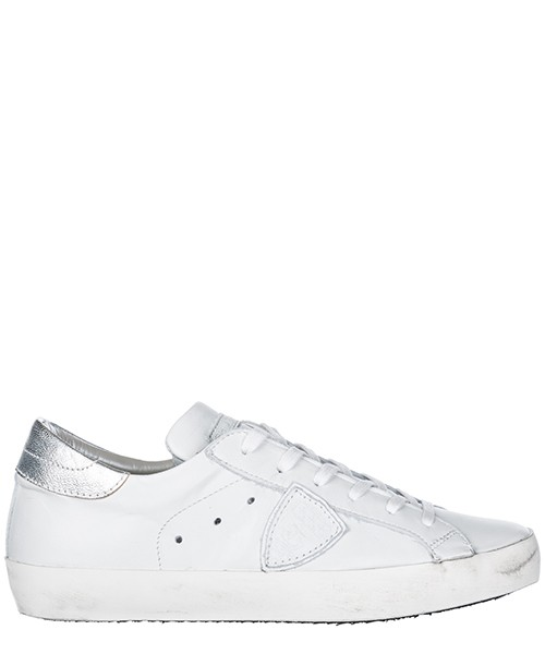 Turnschuhe Philippe Model A18ICLLDV034 bianco