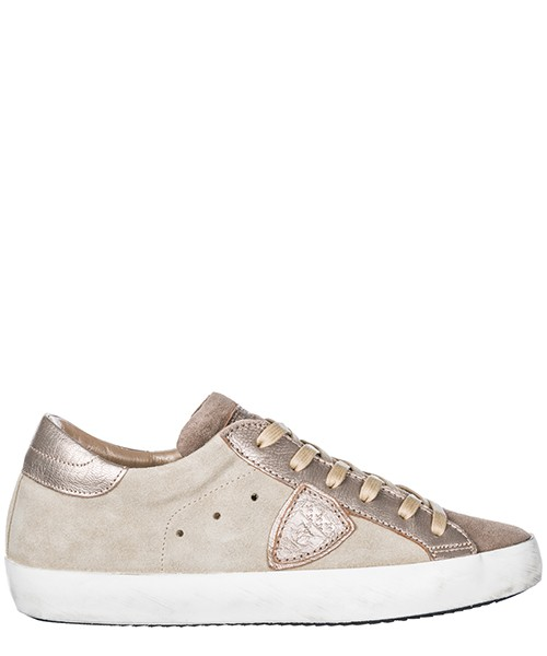 Sneakers Philippe Model paris a18iclldxy06 sable champagne