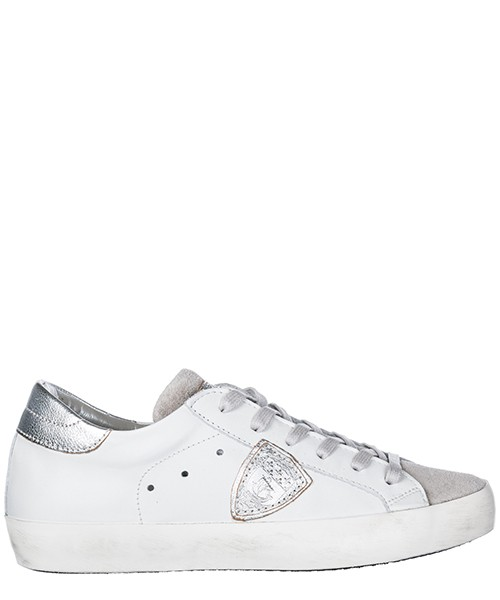 Turnschuhe Philippe Model A18ICLLDXY08 bianco