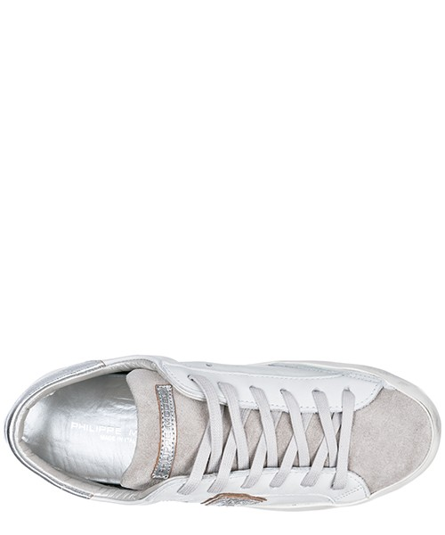 Scarpe sneakers donna in pelle paris secondary image