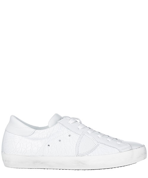 Turnschuhe Philippe Model A18ICLLUMC02 bianco