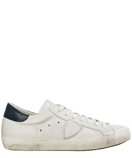 Sneakers Philippe Model A18ICLLUV055 blanc - bleu