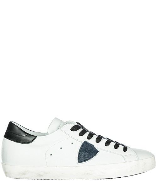 Sneakers Philippe Model paris a18iclluv058 blanc / bleu / noir