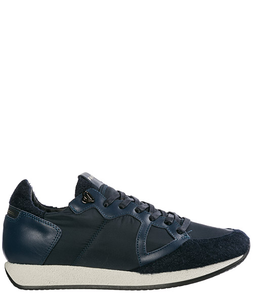 Men's shoes leather trainers sneakers monaco