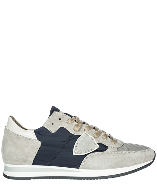 Sneakers Philippe Model Tropez A18ITRLUW065 gris - blanc