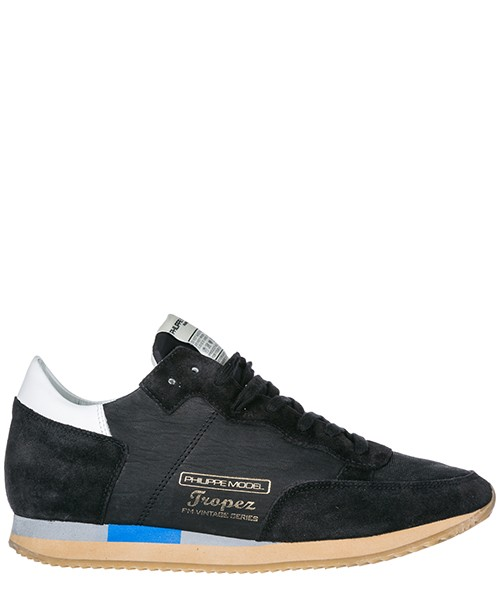 Sneakers Philippe Model Tropez Vintage A18ITVLUWW10 nero