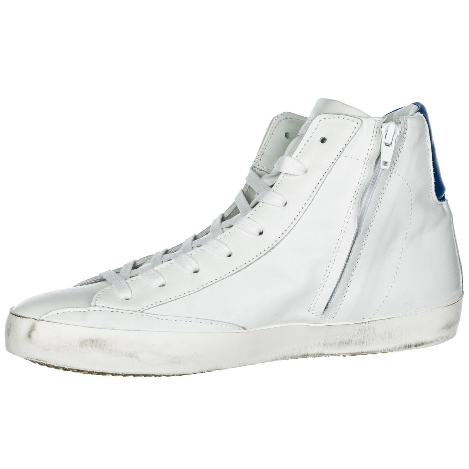 Sneakers alte Philippe Model Paris A19ECLHUVN11 veau neon blanc ... 4955e6eb743