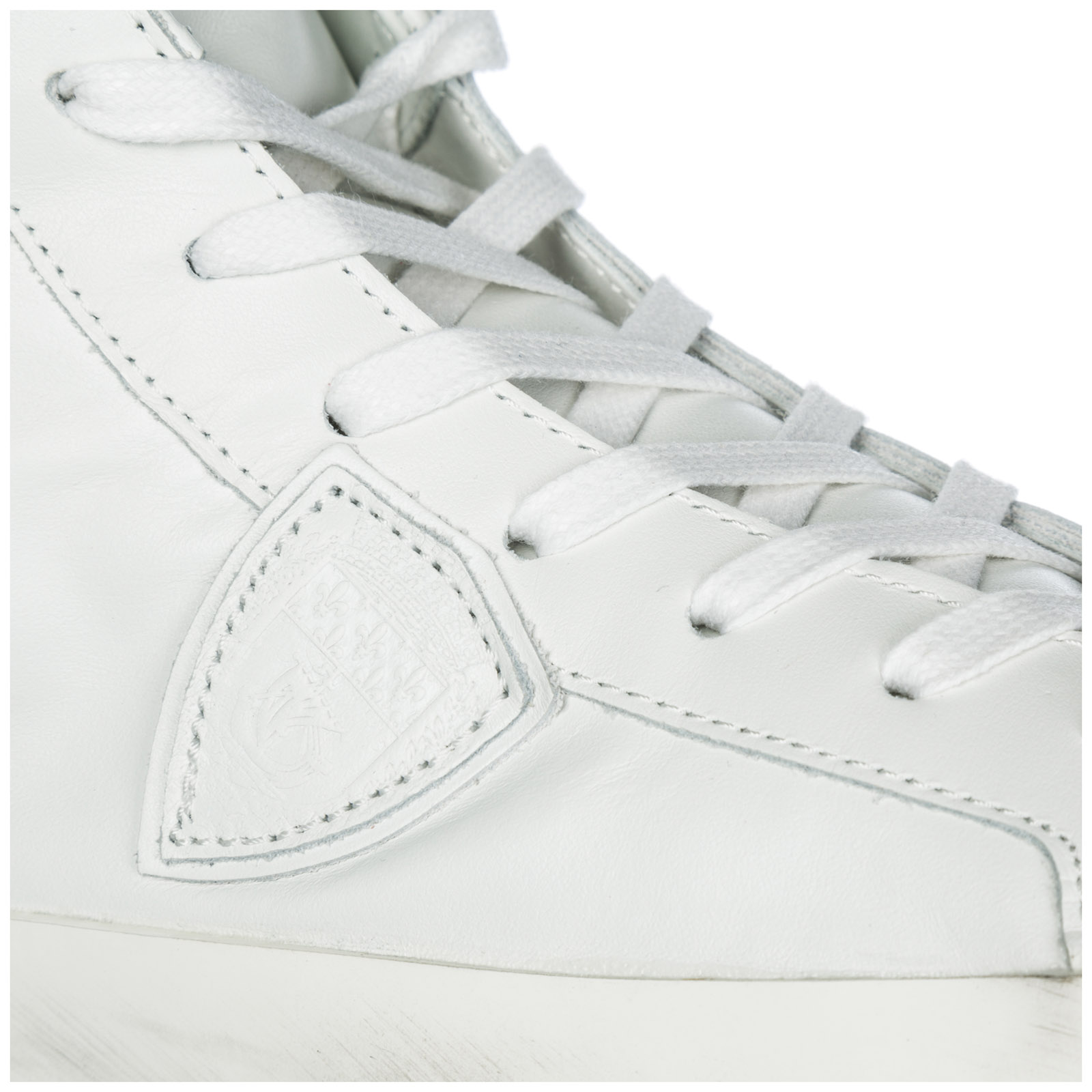 Uomo Paris In Pelle Sneakers Scarpe Alte 7vYbgf6y