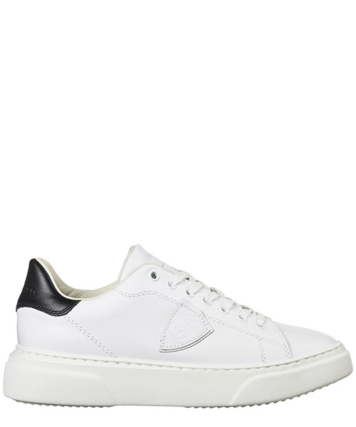 Women's shoes leather trainers sneakers temple