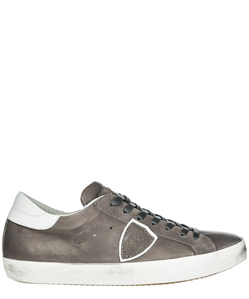 Sneakers Philippe Model Paris A19ECLLUV085 veau antracite