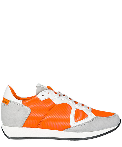 Sneakers Philippe Model Monaco A19EMNLUNF02 legere orange