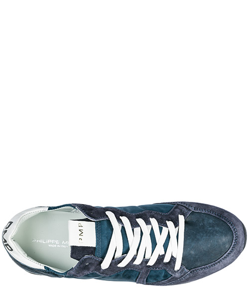Men's shoes suede trainers sneakers monaco secondary image